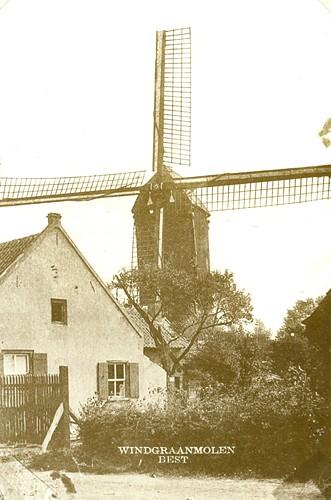Windgraan molen aan de nieuwstraat